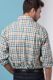 Harvest Dark Check - Mens' 100% Cotton Country Check Shirt
