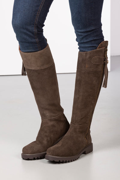 Ladies Suede Country Boots UK   Rydale