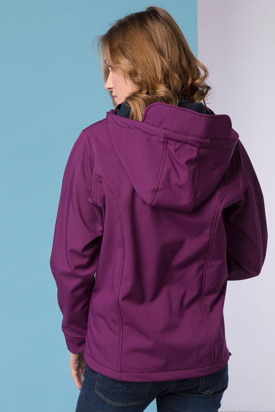 Mulberry - Haxby Softshell Hooded Jacket