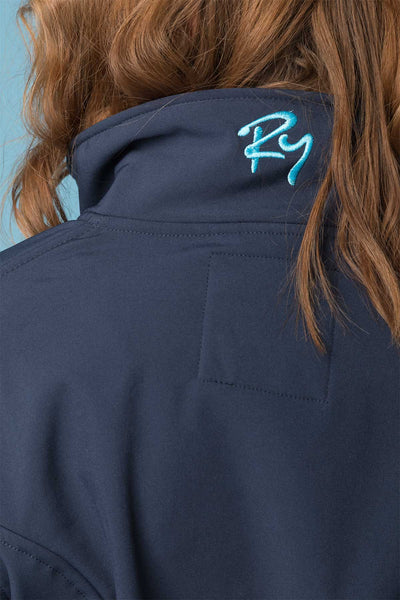 Navy - Ladies Haxby Softshell Jacket