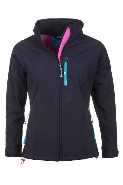 Black - Ladies Haxby Softshell Jacket