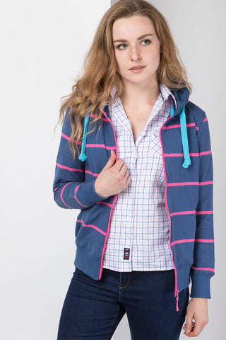 Lady Garton Fleece Gilet Ry Motif