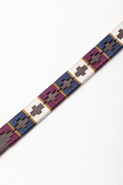 Berry/Navy/Gold - Polo Browband