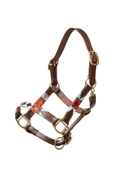 Cherry/Silver/Vanilla - Polo Head Collar