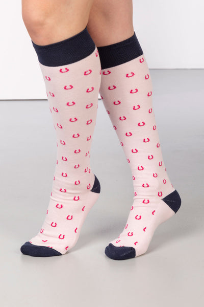 Sorbet - Horse Shoe Knee Length Socks