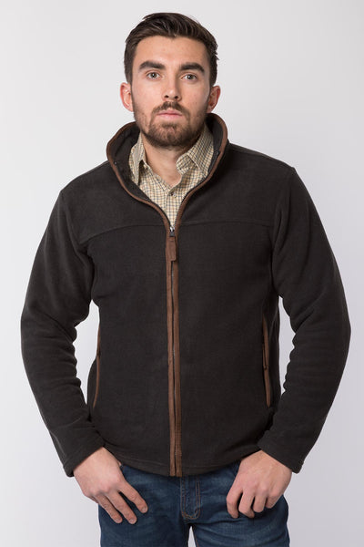 Gunmetal - Men's Huggate Fleece Jacket