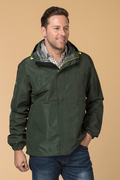 Dark Olive - Mens Jacket In A Packet