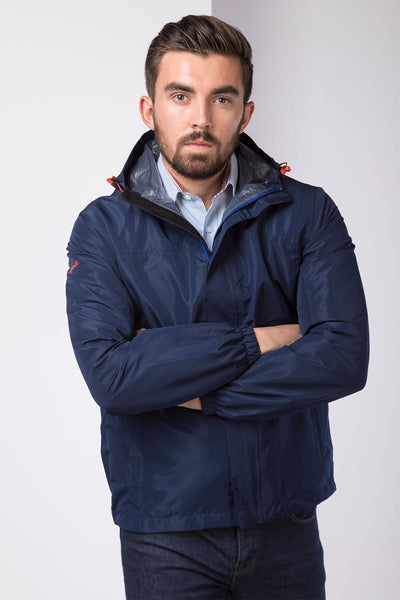 Navy - Mens Jacket In A Packet