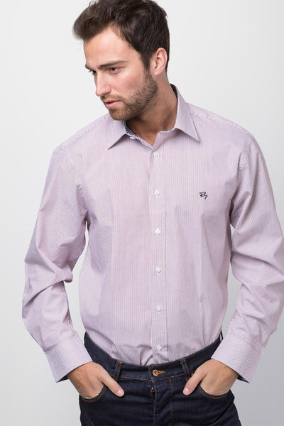 Jacob Wine - Mens 2016 Oxford Classic Shirt