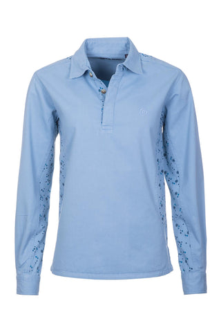 Blue - Kirby Muston Jasmine Deckshirt