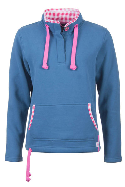 JBlue - Ladies Rydale Button Neck Sweatshirt
