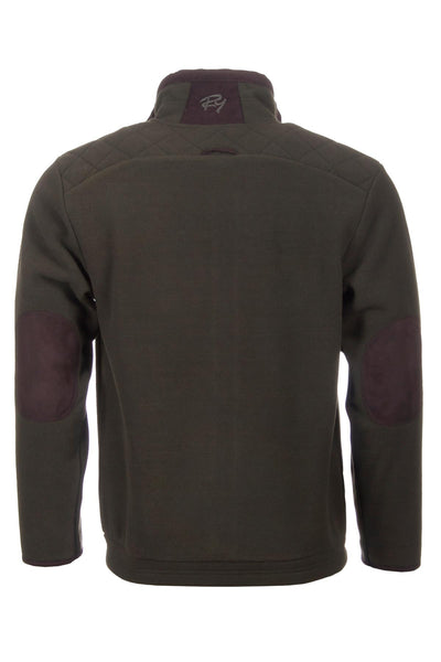 Olive - Mens Green Shooting Fleece
