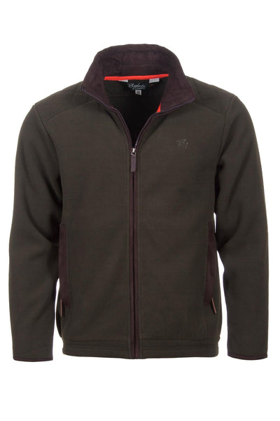 Olive - Gembling Full Zip Shooting Fleece