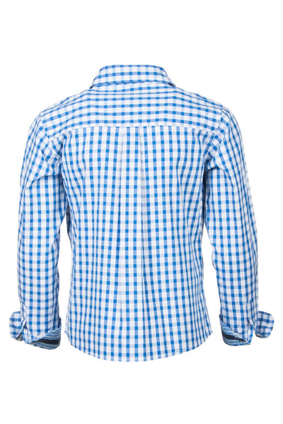 Josh Check - Boys Long Sleeved Dress Shirts