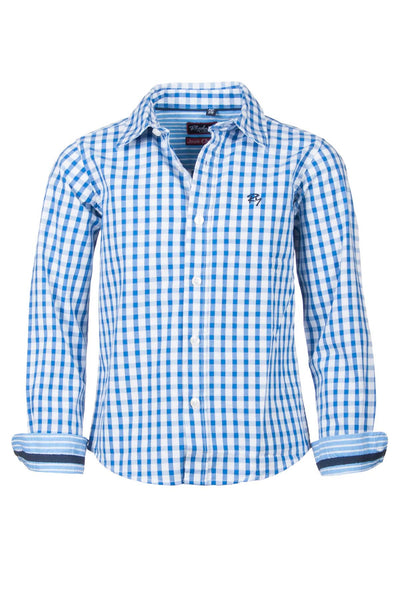 Josh Check - Junior Oxford Cotton Shirt