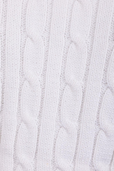Vanilla - Junior Cable Knit Sweater