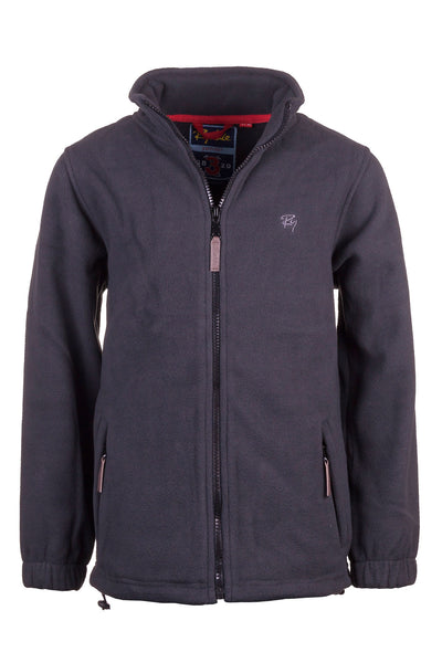Gunmetal - Junior Flaxton Fleece Jacket