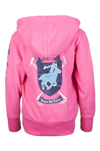 Pinky - Girls Legacy Polo Club Hoody