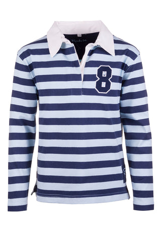 Girls Royal Sash Polo Shirt