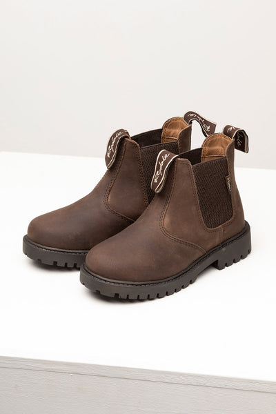 Waxy Brown - Boy's Market Boots