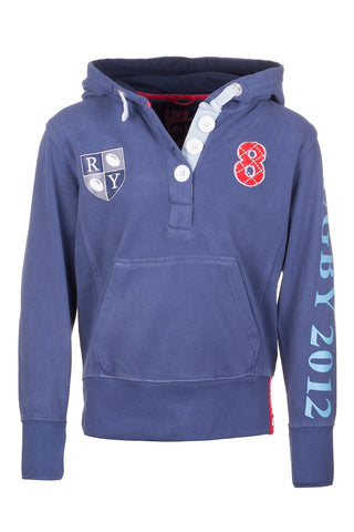 Boys Rugby Patch Hoody