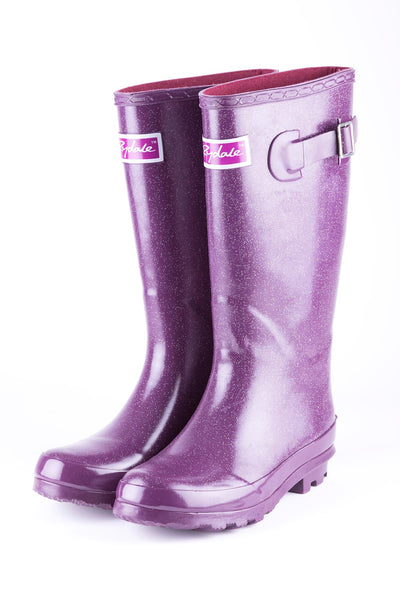 Glitter Berry - Junior Ripon II Wellingtons