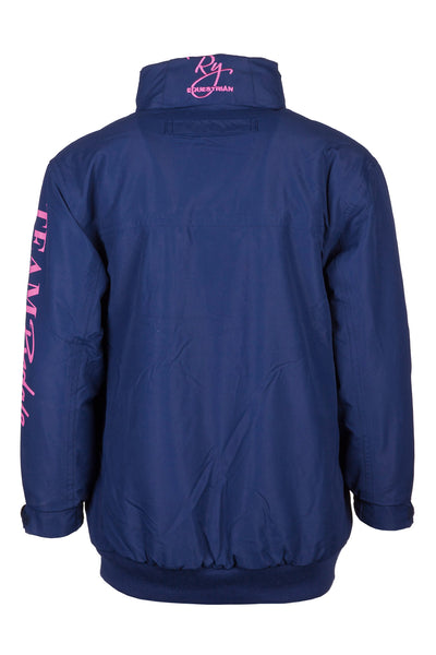 Navy - Junior Ripon II Polo Jacket with Sleeve