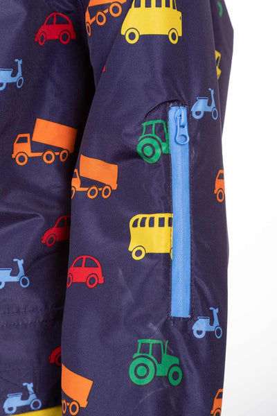 Automobile Navy - Junior Splash Jacket
