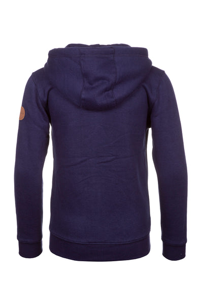 Navy - Junior William Full Zip Hoody