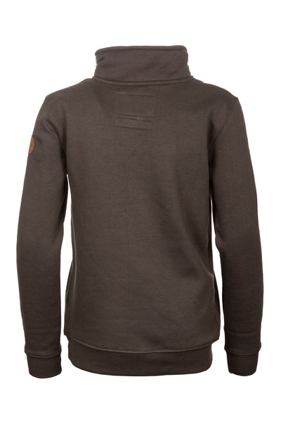 Khaki - Junior William Half Zip Sweatshirt