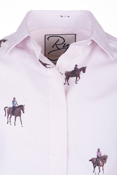 Giddy Up - Junior Wistow Printed Shirt