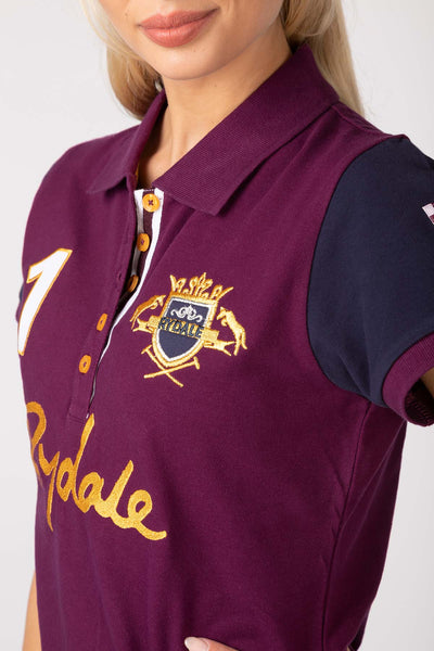 Berry - Katie Team Rydale Polo Shirt