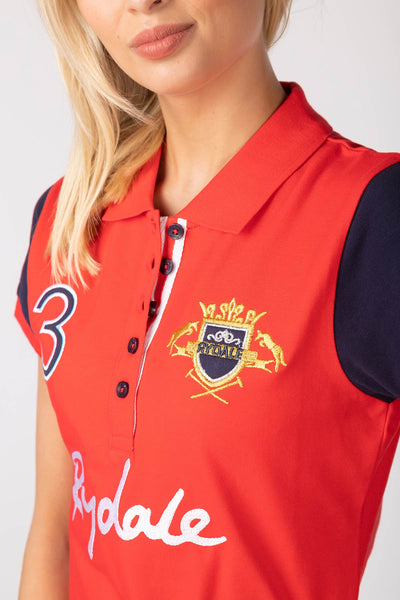 Cherry - Katie Team Rydale Polo Shirt