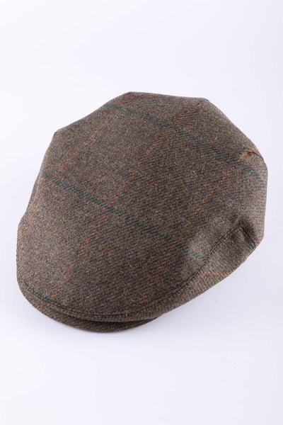 Pattern 2 - Keepers Tweed Flat Cap