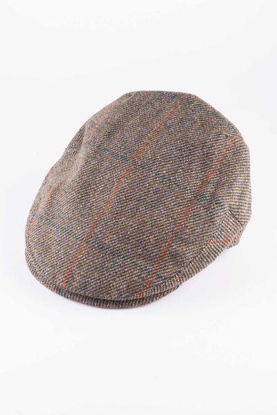 Pattern 12 - Keepers Tweed Flat Cap