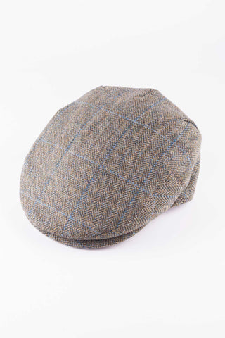 Pattern 1 - Keepers Tweed Flat Cap