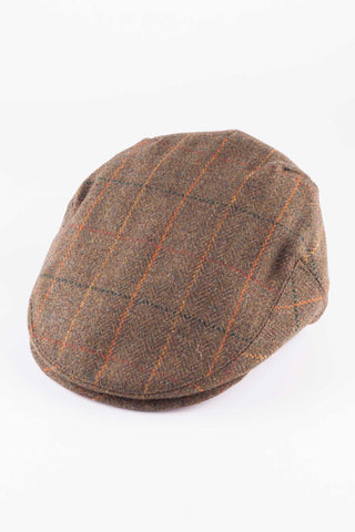 Waxed Cotton Flat Cap