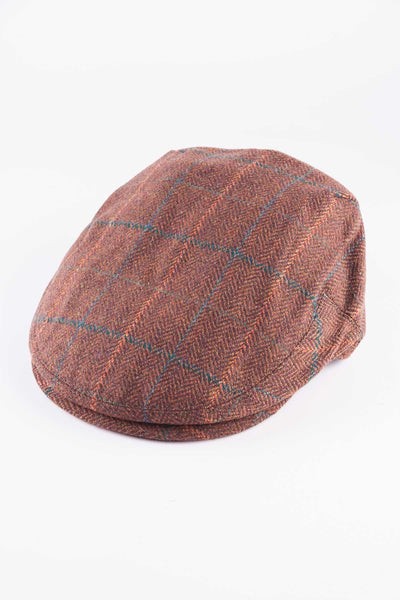 Pattern 28 - Keepers Tweed Flat Cap