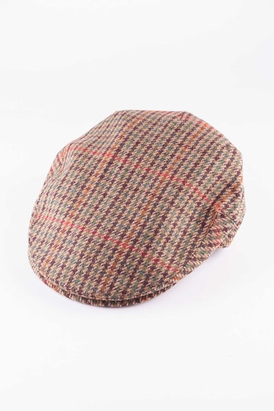 Pattern 3 - Keepers Tweed Flat Cap