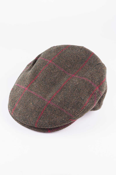 Pattern 7 - Keepers Tweed Flat Cap