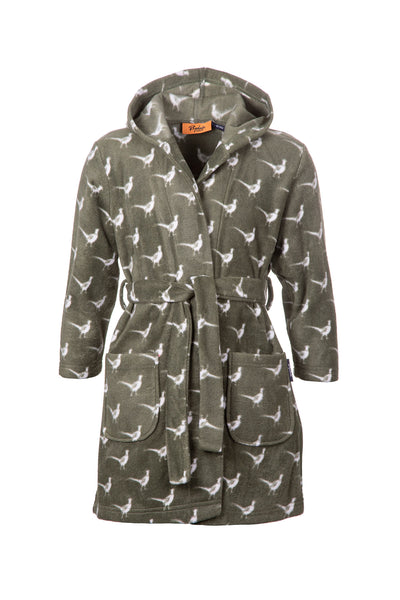 Pheasant Olive - Kid's Dressing Gown