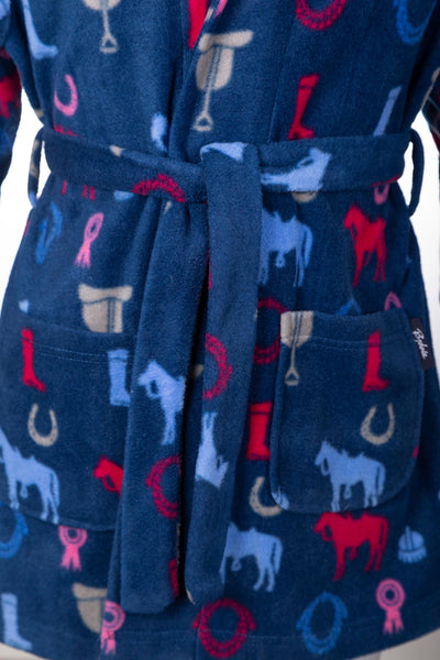 Pony Navy - Kid's Dressing Gown