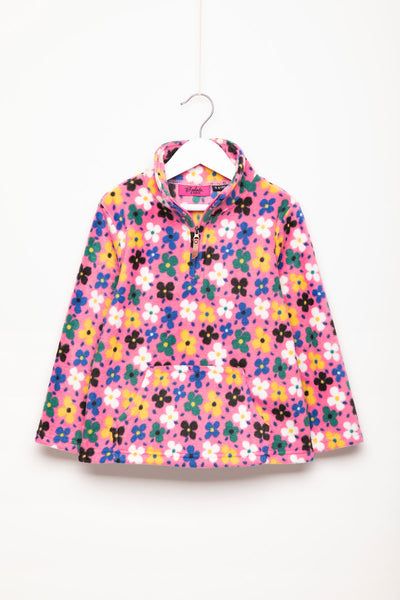 Petal Pink - Children's Overhead Fleece - Frankie
