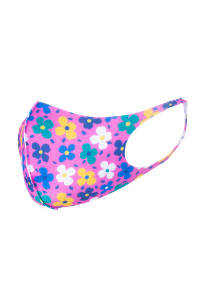 Petal Pink - Kid's Patterned Face Mask