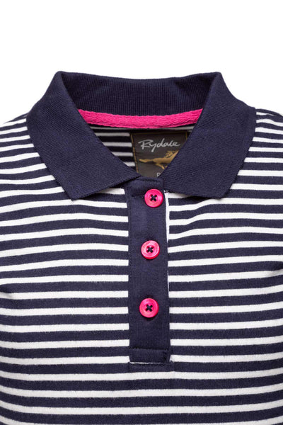 Navy/White - Kids Polo Shirt