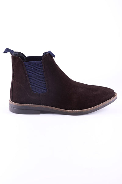 Brown - Mens Kiplin Suede Chelsea Boot