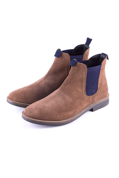 Tan - Mens Kiplin Suede Chelsea Boot