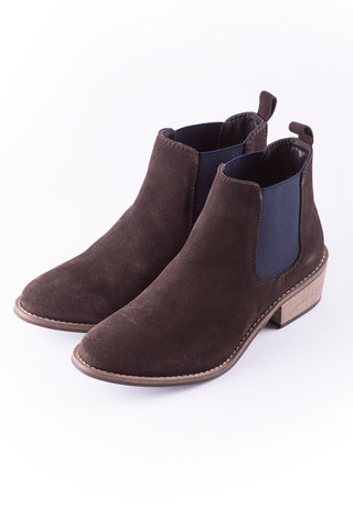 Kirby Suede Heeled Boots