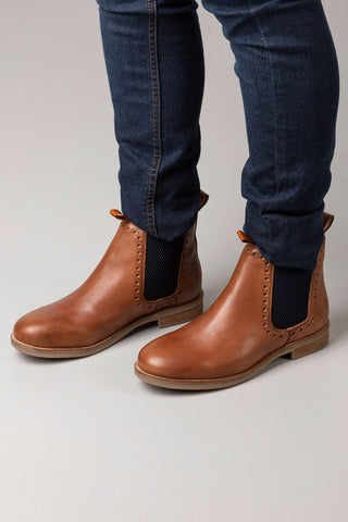 Kirby Brogue Chelsea Boots