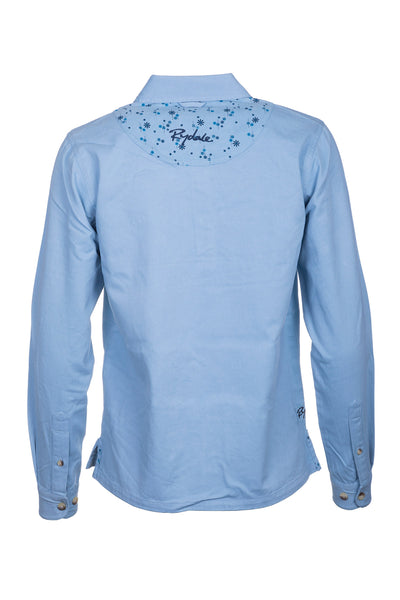 Blue - Kirby Jasmine Deck Shirt